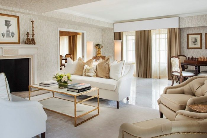 Presidential Living Room Myron Wolman Designs 1