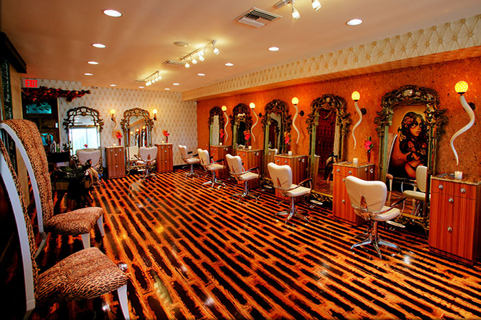 Myron Wolman Salon Decor Salon Interior Design 1